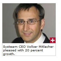 Volker_Mitlacher, CEO of Systeam - is he carrying the Olympic torch?