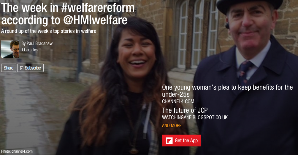 The week in welfare reform according to @HMIwelfare