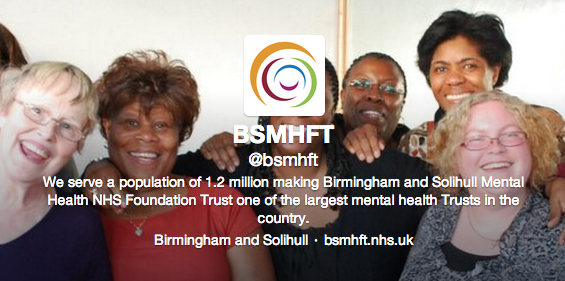 Birmingham and Solihull Mental Health Foundation Trust on Twitter